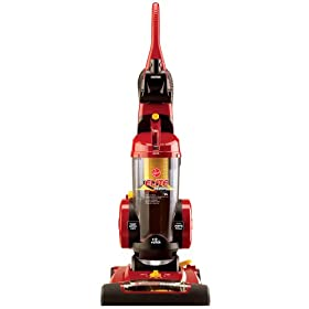 Hoover Remanufactured Elite Rewind Upright Vacuum, Bagless, U55079RM(Colors may vary)