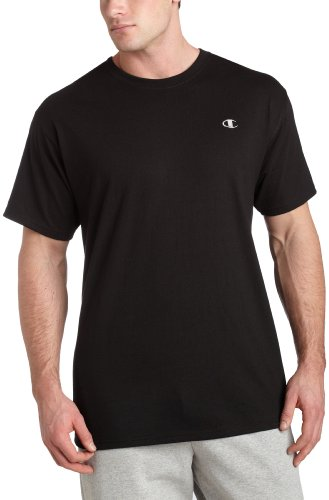Champion Men's Jersey Tee, Black, Large Picture
