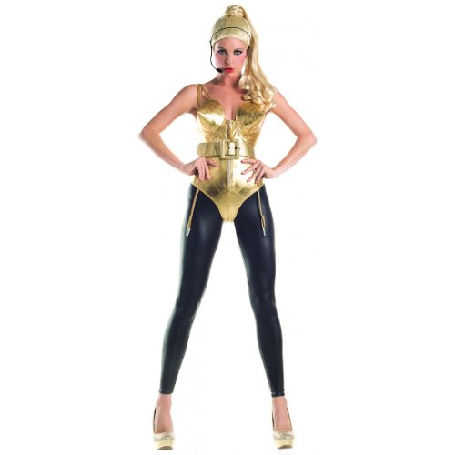 Party King 80s Pop Diva Women's Costume Set, 4 Sizes