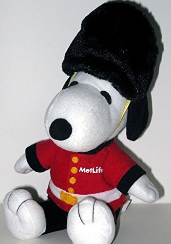 metlife-snoopy-english-guard-collectible-8-plush-by-metlife