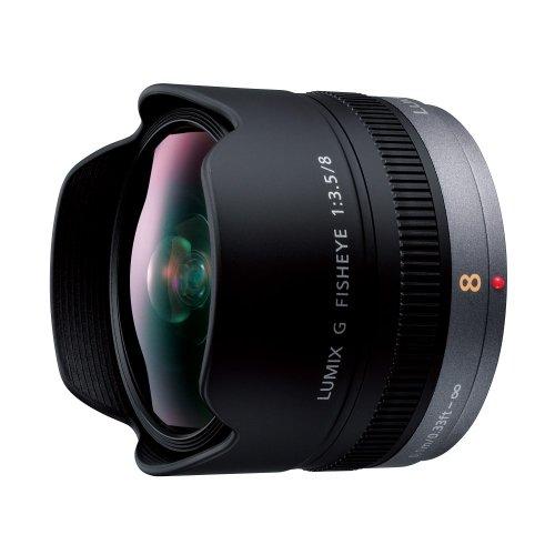 Panasonic デジタルカメラオプション マイクロフォーサーズシステム用交換レンズ 魚眼レンズ H-F008