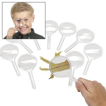 Fun Express Magnificent Magnifying Glasses (10 Piece)