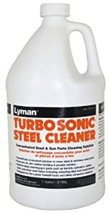 Lyman Products Turbo Sonic Gun Parts Cleaning Concentrate, 1-Gallon by Lyman