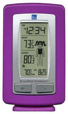 La Crosse Technology Ws-9782Twc-It-Tbp Wireless Temperature Station With Weather Girl