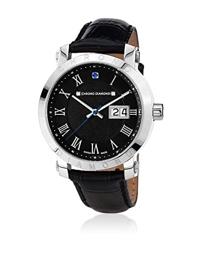 Chrono Diamond Reloj con movimiento cuarzo suizo Man 10620B Nestorius