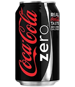 Coca Cola Coke Zero, 12-Ounce (Pack of 24)