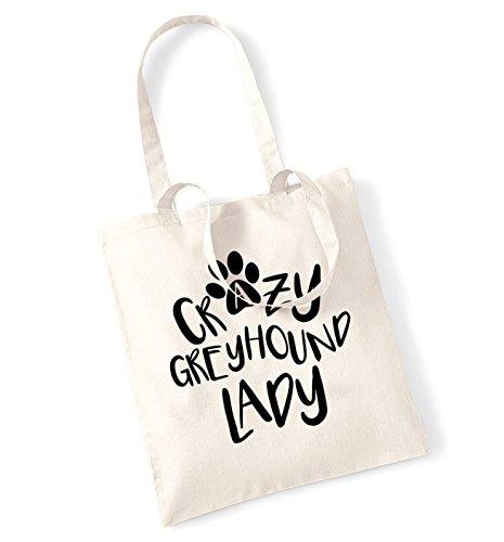 crazy-greyhound-lady-tote-bag