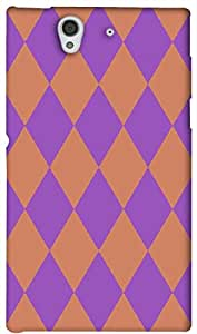 Timpax protective Armor Hard Bumper Back Case Cover. Multicolor printed on 3 Dimensional case with latest & finest graphic design art. Compatible with Sony L36H - Sony 36 Design No : TDZ-22179