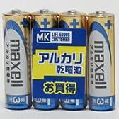 日立マクセル PBアルカリ単三電池4P LR6(GD)4PMK