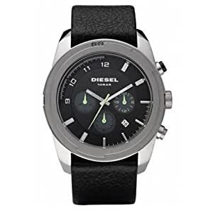 Diesel Men's DZ4190 Advanced Chronograph Black Dial Watch