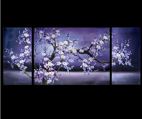 Chinese Flower Painting Cherry Blossom Painting Feng Shui Paintings 172