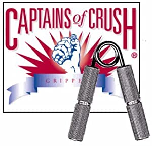USA - IronMind Captains of Crush Grippers CoC No.1 140lb 63kg - l'étalon-or de pinces