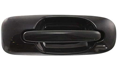 Evan-Fischer EVA18772022201 New Direct Fit Exterior Door Handle for TOWN AND COUNTRY 01-07 FRONT RH Outside Smooth Black w/o Keyhole Replaces Partslink# CH1311133 (Town And Country Door Handles compare prices)