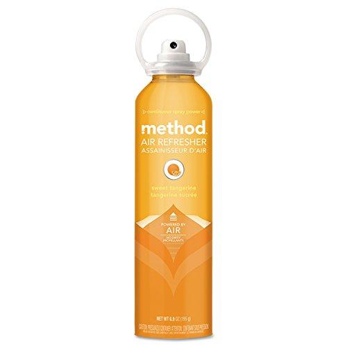 method-sani-professional-01418-air-refresher-sweet-tangerine-69-oz-aerosol-orange-pack-of-6