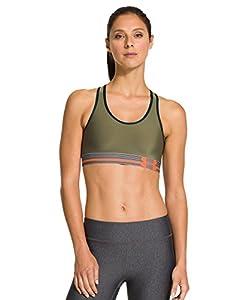 Under Armour Women's UA HeatGear® Armour Sports Bra Large Linen