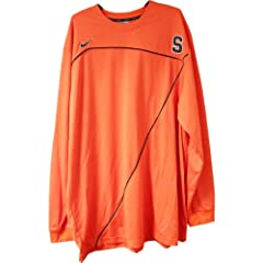 Jackson Long Sleeve Shooting Shirt - Syracuse 2009-10 Mens Basketball #00 Game Worn...
