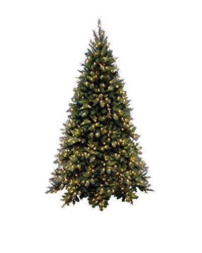 National Tree Company 9' Tiffany Fir Medium Hinged Tree