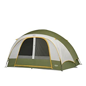 Wenzel Evergreen Six-Person Tent - Green, One Size from Wenzel