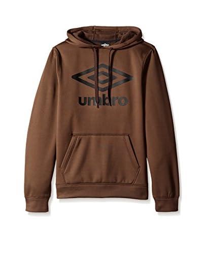 Umbro Men's Tek Fleece Logo Pullover Hood