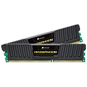 Corsair Vengeance 16GB (2x8GB)  DDR3 1600 MHz (PC3 12800) Desktop Memory (CML16GX3M2A1600C10)