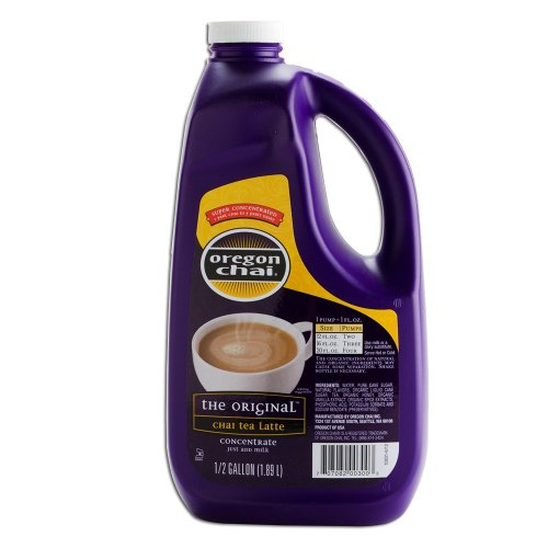 Oregon Chai Original Chai Super Concentrate - 1/2 Gallon Bottle