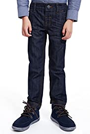Cotton Rich Adjustable Waist Studded Skinny Jeans [T88-5957P-Z]