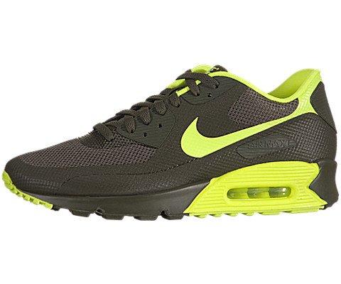 low priced 88136 658fc Nike Air Max 90 Hyperfuse Premium Cargo Khaki Volt 13 D US