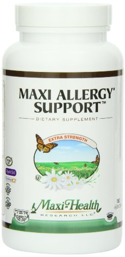 Maxi Allergy Support, 180 Count