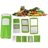 Vegetable Chopper 12 In 1 Fruit & Vegetable Graters, Slicer, Chipser, Dicer, Juicer, Cutter Chopper Famous