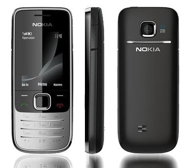 Nokia 2730 Unlocked Cell Phone with 2 MP Camera (Black)
