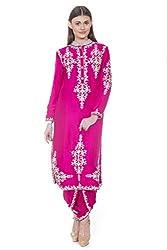 Rinku Sobti Women's Tunic (MAR-A23_Pink_X-Large)