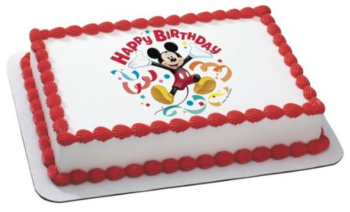 Mickey Mouse Clubhouse Streamers Cake Topper comestibles Decoración