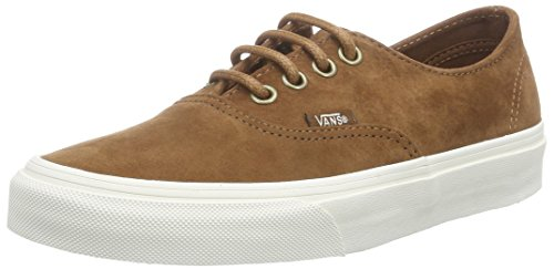 VansU Authentic Decon Scarpe da Ginnastica Basse, Unisex Adulto, Marrone (Scotchgard monk's robe), 36