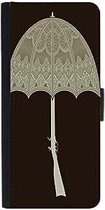 Snoogg Umbrella Gun 2495 Designer Protective Flip Case Cover For Samsung Gala...