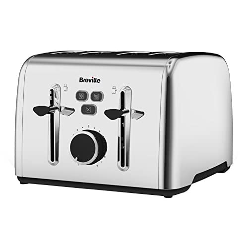 Breville Colour Notes 4 Slice Toaster - Stainless Steel