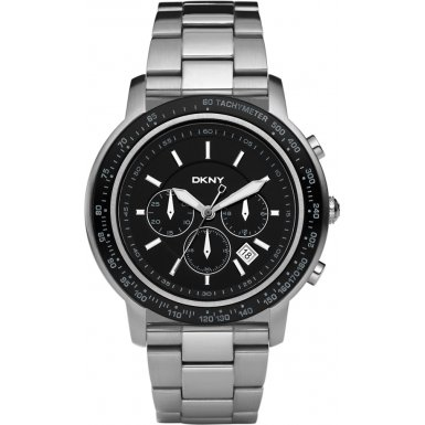 DKNY NY1477 Mens Sport Chronograph Silver Watch