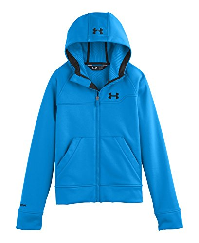 Under Armour Big Boys' Ua Storm Coldgear® Infrared Softershell Hoodie Youth Large Electric Blue