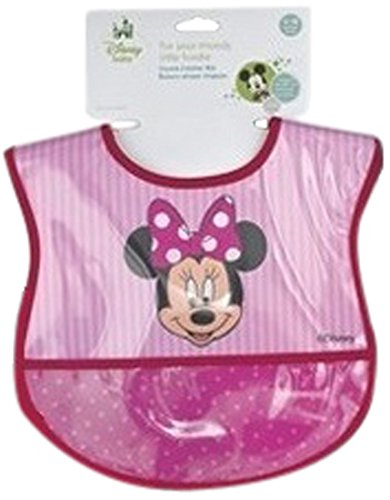 Minnie Mouse Crumbcatcher Bib - 1