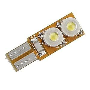 Amazon.com : KUKU T10 4W White Light LED Bulb for Car Lamp (DC 12V