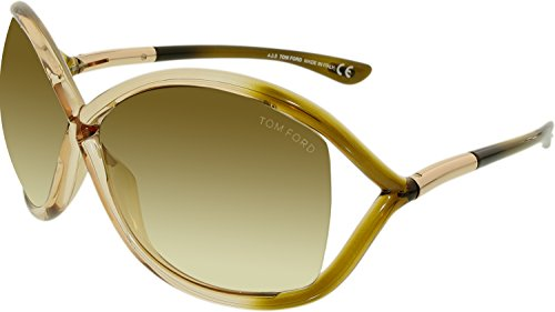 Tom Ford Sunglasses - Whitney / Frame: Champagne Fade Lens: Brown Gradient (Tom Ford Whitney Sunglasses Women compare prices)