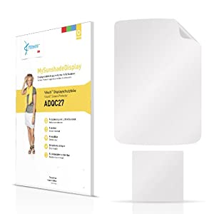 Vikuiti MySunshadeDisplay Screen Protector ADQC27 from 3M for Samsung R270 Contour 2 (Crystal-clear and anti-reflective, Hard-coated, Dirt-repellent, Very simple assembly)