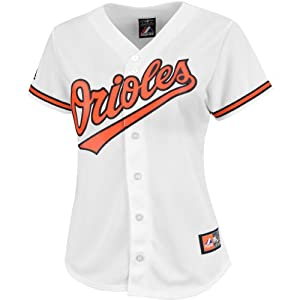 Majestic Athletic Baltimore Orioles Ladies Replica Matt Wieters Home Jersey by Majestic Athletic