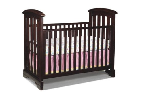 Westwood Design Waverly Cottage Crib, Chocolate Mist