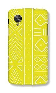 Back Cover for Nexus 5 YELLOW AZTEC