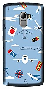 Wow Premium Design Back Cover Case For Lenovo Vibe A7010