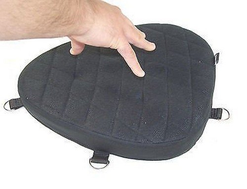 IND STURGIS DS100 Motorcycle Driver Seat Gel Pad Cushion for Harley Davidson Sportster 883 or 1200 (Gel Seat Cushion Motorcycle compare prices)