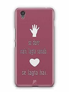 YuBingo Thappad se Darr Nahin Lagta, Pyaar Se Lagta Hai Designer Mobile Case Back Cover for OnePlus X