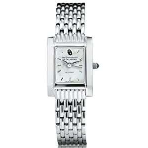 University of Oklahoma Ladies Swiss Watch - Mother of Pearl Quad by M.LaHart & Co.