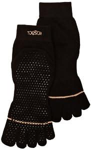 ToeSox Full Toe with Grip Yoga/Pilates Toe Socks from ToeSox