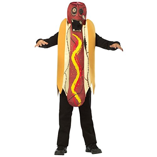 [GSG Zombie Hot Dog Costume Kids Halloween Fancy Dress] (Gladiator Dog Costumes)